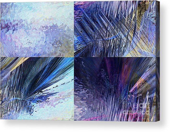 Hotel Art Acrylic Print featuring the digital art Quartet by Margie Chapman