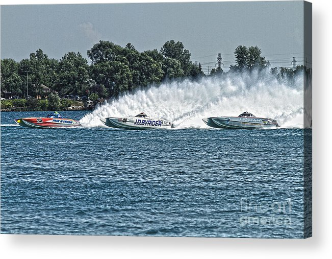 Talkin Trash Acrylic Print featuring the photograph Race Day by Michael Petrick