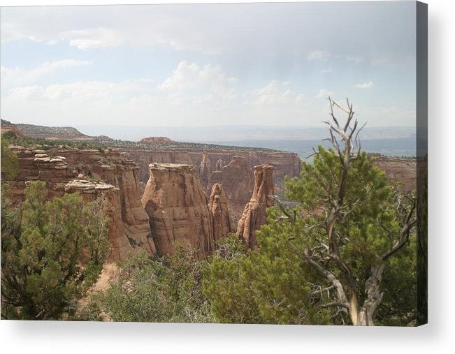 Red Rock Acrylic Print featuring the photograph Red Rock Canyon by Steve Scheunemann