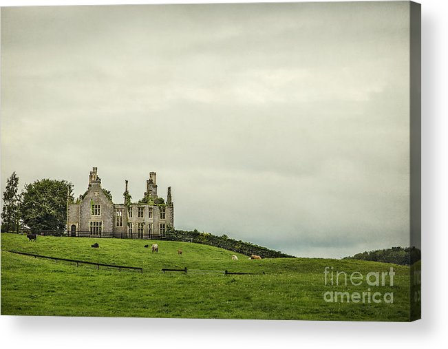 Ireland Acrylic Print featuring the photograph Reign Over Me by Evelina Kremsdorf