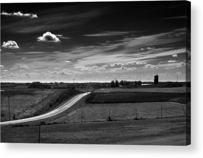 America Acrylic Print featuring the photograph Road Trip #3181 by Robert Tolchin