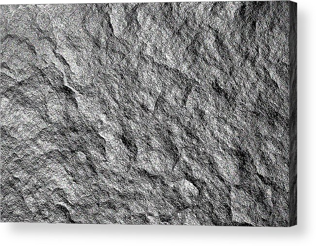 Rock Stone Texture Rock Stone Background Or Wallpaper Acrylic Print