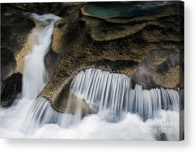 America Acrylic Print featuring the photograph Rocks In Paradise by Inge Johnsson