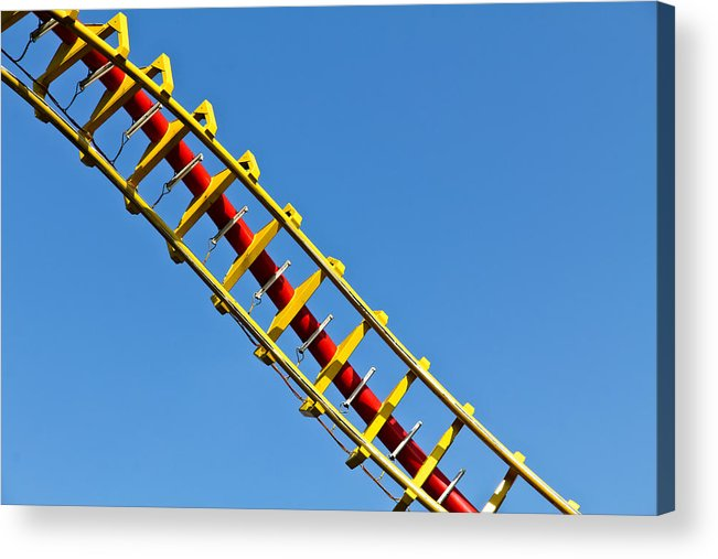 Amusement Acrylic Print featuring the photograph Roller Coaster Helix by Stephan Stockinger