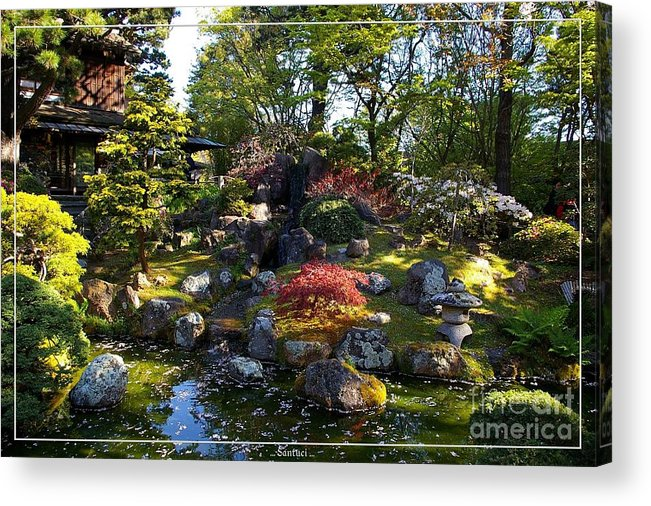 japanese tea garden acrylic print featuring the photograph san francisco golden gate park japanese tea garden - Golden Gate Park Japanese Tea Garden