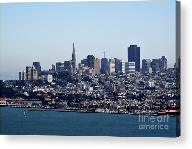 San Francisco Acrylic Print featuring the photograph San Francisco Skyline by Beth Sanders