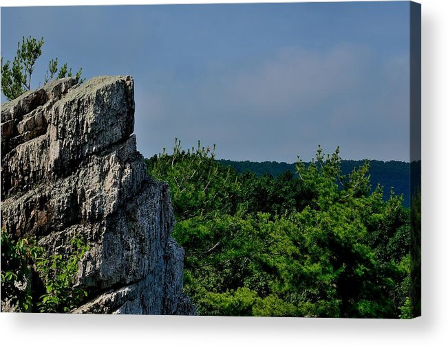 Landscape Acrylic Print featuring the photograph Sanguine-27 by Luke Jones