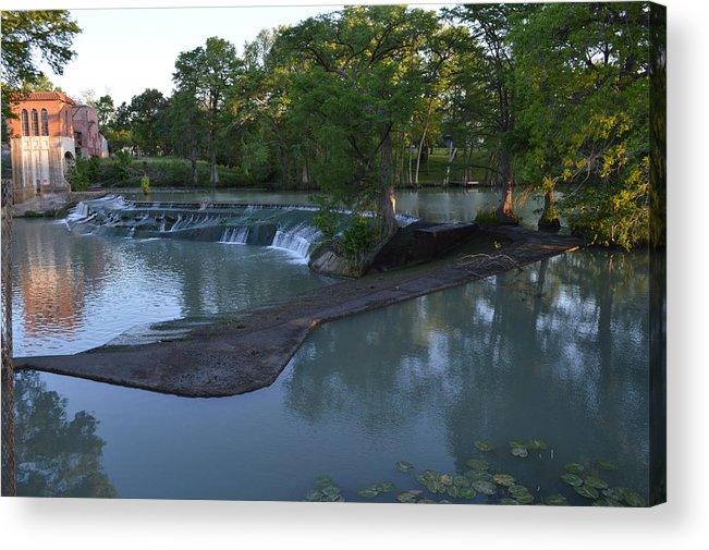 Architectur Acrylic Print featuring the photograph Seguin Tx 01 by Shawn Marlow