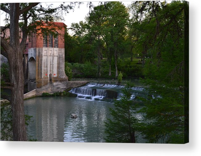 Architectur Acrylic Print featuring the photograph Seguin Tx 03 by Shawn Marlow