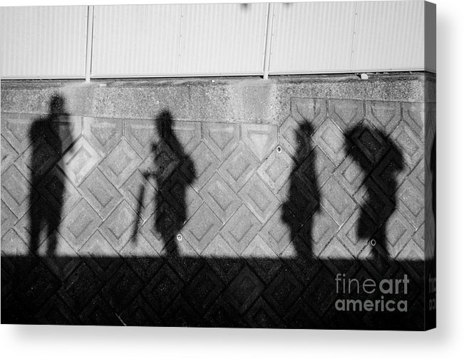 Photographer Acrylic Print featuring the photograph Self Portrait With Muses by Dean Harte