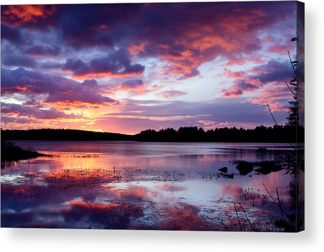 Sunset Acrylic Print featuring the photograph Serenity Sunset by Shell Ette