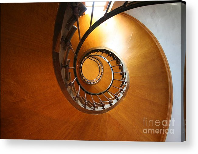 Staircase Acrylic Print featuring the photograph Shaft Staircase by Christiane Schulze Art And Photography