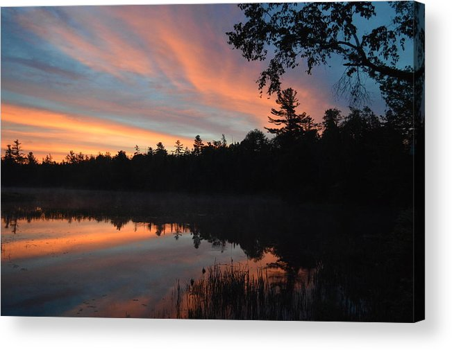 Sunrise Acrylic Print featuring the photograph Shards by Thomas Phillips