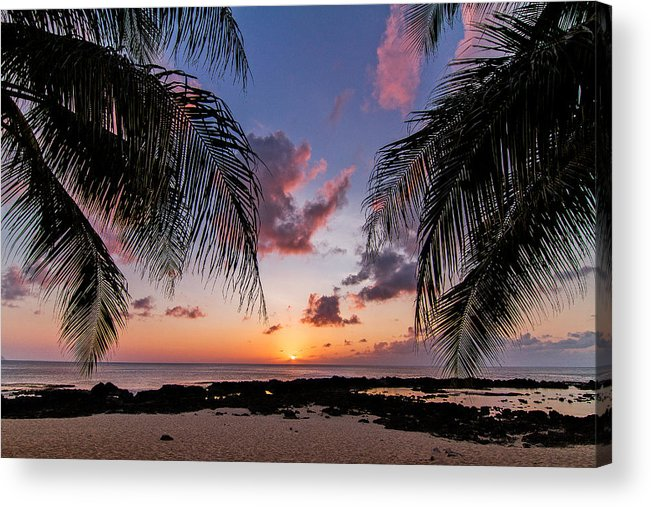 Wave Acrylic Print featuring the photograph Sharks Cove by Doug Falter