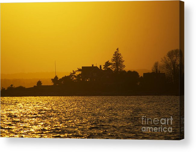 Sunset Acrylic Print featuring the photograph Shine Through by Joe Geraci