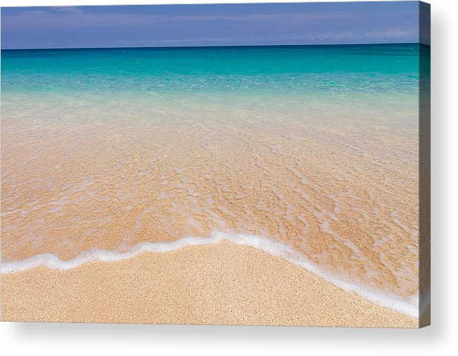 Wave Acrylic Print featuring the photograph Shore by Doug Falter
