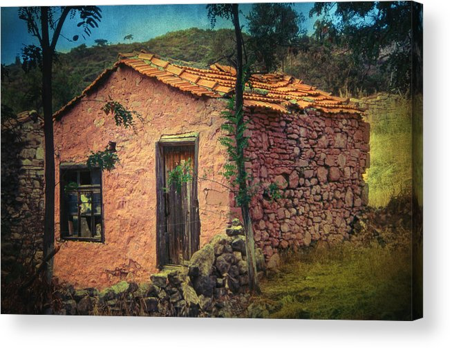 Village Acrylic Print featuring the photograph Sighed by Taylan Apukovska