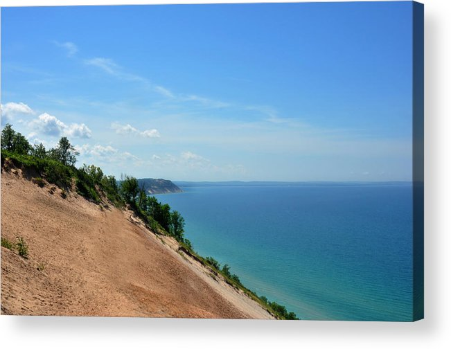 Sleeping Bear Dunes Acrylic Print featuring the photograph Sleeping Bear Dunes by Diane Lent