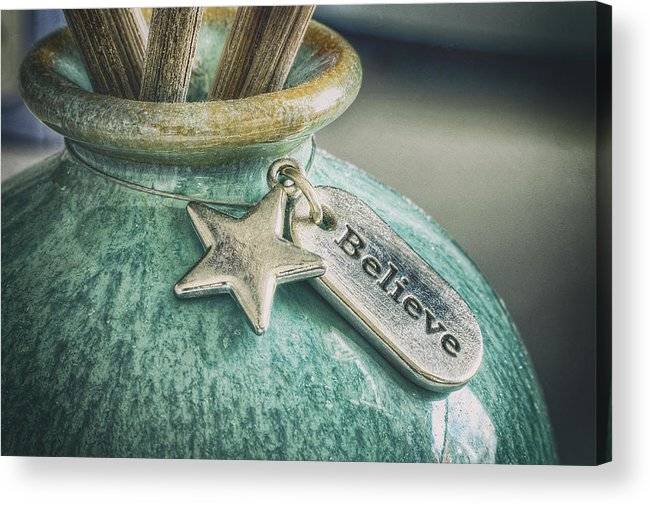 Believe Acrylic Print featuring the photograph Something To Believe In by Scott Norris