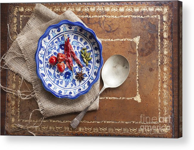 Herb Acrylic Print featuring the photograph Spicy Cooking by Charlotte Lake