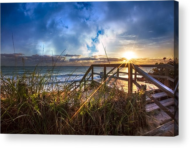 Christ Acrylic Print featuring the photograph Spiritual Renewal by Debra and Dave Vanderlaan