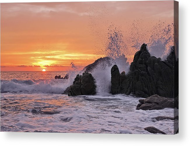 Landscape Acrylic Print featuring the photograph Splash by Marcia Colelli