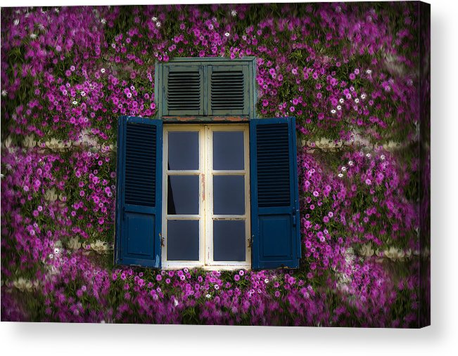 Window Acrylic Print featuring the photograph Spring Window by Radoslav Nedelchev