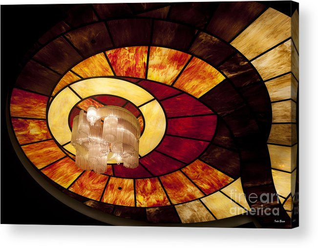 Stained Glass Art Acrylic Print featuring the photograph Stained Glass Art by Ivete Basso Photography
