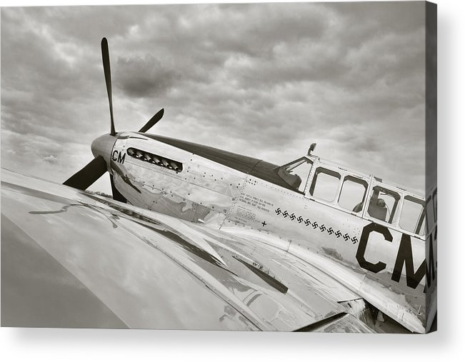 Ww Ii Airplane Acrylic Print featuring the photograph Still Ready To Answer The Call by M K Miller