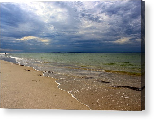 Mayflower Beach Acrylic Print featuring the photograph Stormy Mayflower Beach by Amazing Jules