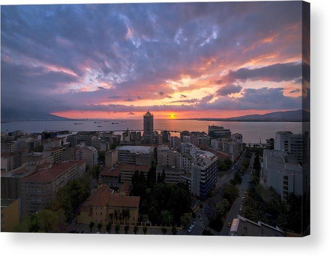 Mark Whitt Acrylic Print featuring the photograph Stunning Sunset by Mark Whitt