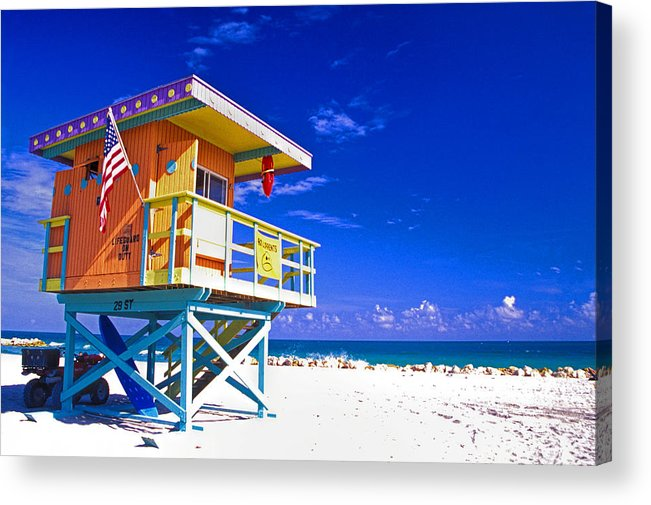 Architecture Acrylic Print featuring the photograph Summer Time by Eggers Photography