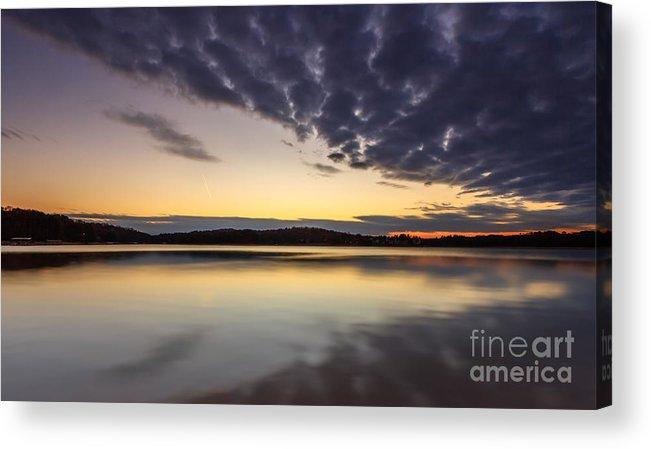 Beach Acrylic Print featuring the photograph Sunrise by Bernd Laeschke