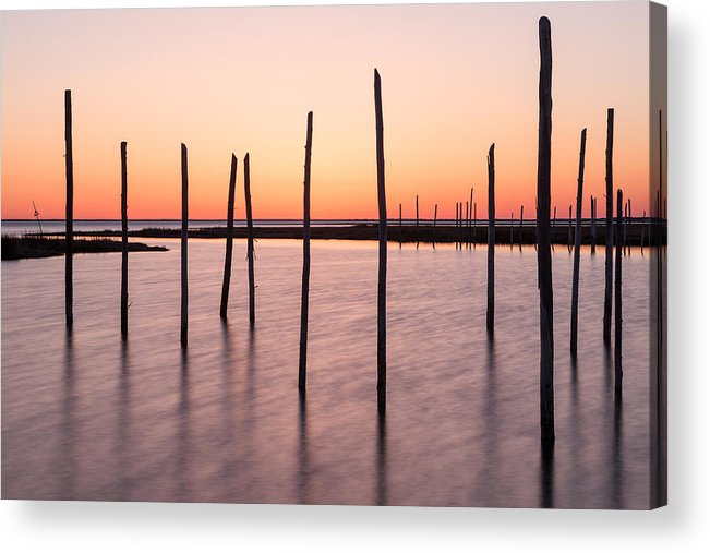 Bay Acrylic Print featuring the photograph Sunset On The Bay I by Denise Bush