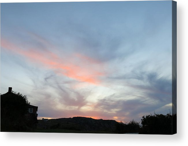 Sunset Acrylic Print featuring the photograph Sunset Over Monhegan by Jean Macaluso