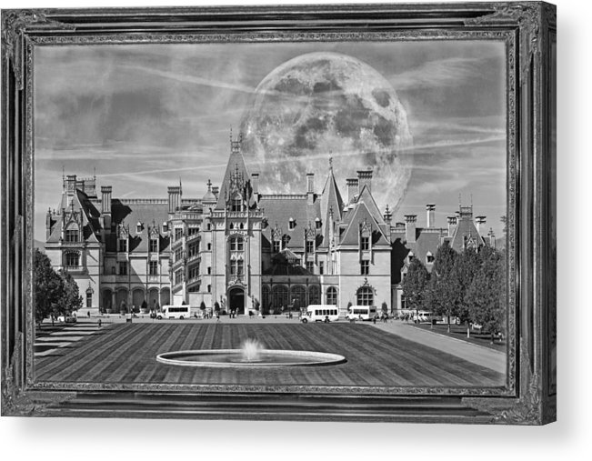 Biltmore Acrylic Print featuring the mixed media The Art Of Biltmore by Betsy Knapp