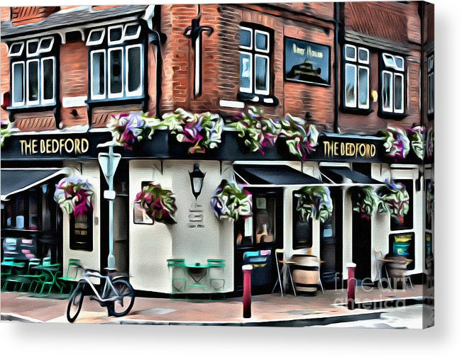 Ale Acrylic Print featuring the digital art The Bedford by Paul Stevens