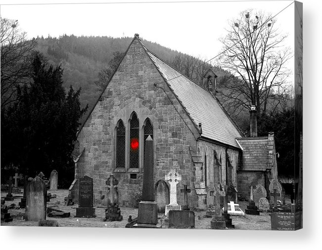 Church Acrylic Print featuring the photograph The Church by Christopher Rowlands