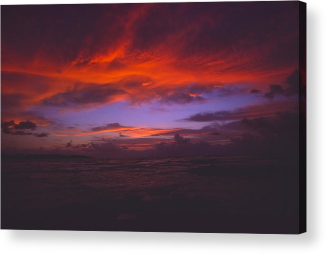 Landscape Acrylic Print featuring the photograph The Eye Of God by Morris McClung