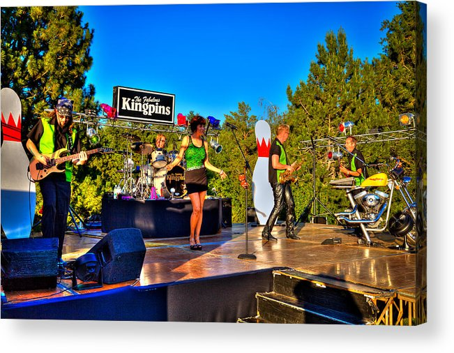 The Kingpins Acrylic Print featuring the photograph The Fabulous Kingpins by David Patterson