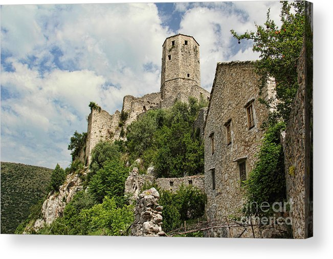 Fortress Acrylic Print featuring the photograph The Fortress by Michelle Tinger