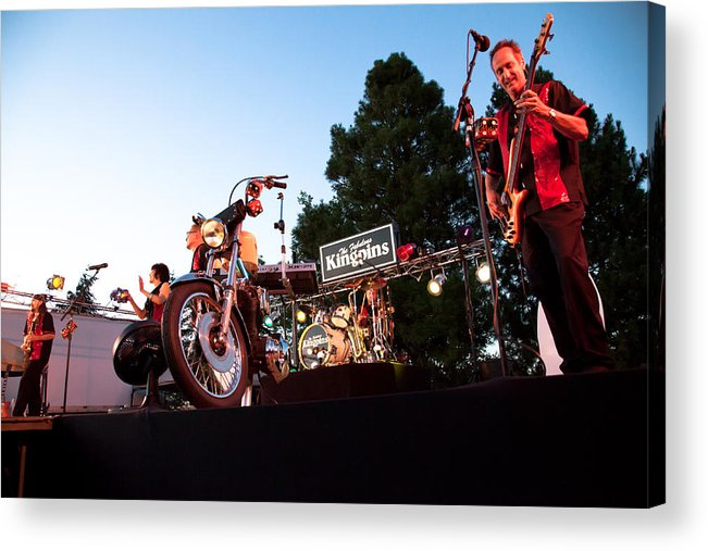 The Kingpins Acrylic Print featuring the photograph The Kingpins II by David Patterson