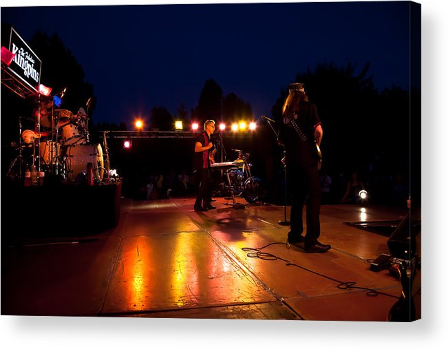 The Kingpins Acrylic Print featuring the photograph The Kingpins Rock Pullman by David Patterson