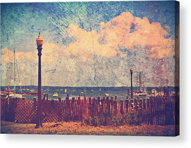 Mamaroneck Acrylic Print featuring the photograph The Salty Air Sea Breeze In Her Hair Iv by Aurelio Zucco