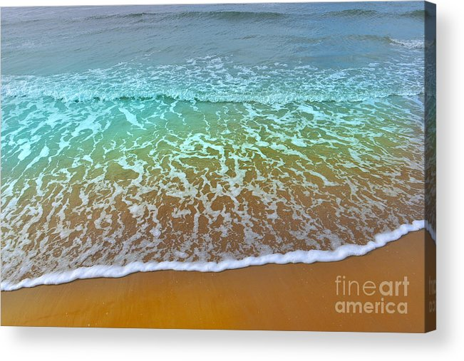 Beach Acrylic Print featuring the photograph The True Beauty Of Water And Sun by Fatima Suljagic