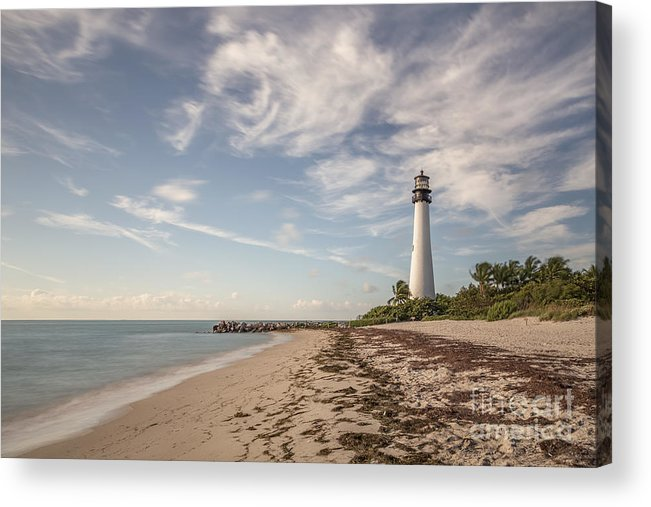 Cape Florida Acrylic Print featuring the photograph The Way Back Home by Evelina Kremsdorf