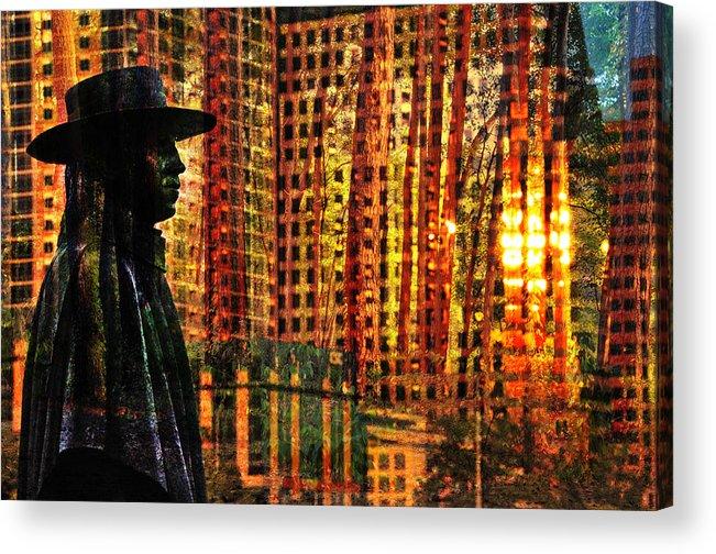 Urban Guru Acrylic Print featuring the photograph Urban Guru by Skip Hunt