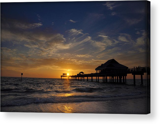 Vacation Acrylic Print featuring the photograph Vacation All I Ever Wanted by Bill Cannon
