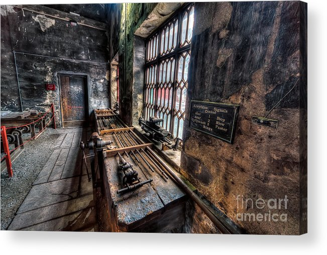 Architecture Acrylic Print featuring the photograph Victorian Workshops by Adrian Evans
