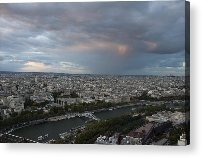 View Of Paris Acrylic Print featuring the photograph View Of Paris by Ivete Basso Photography